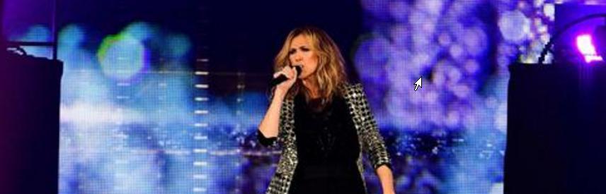 Concert de Céline Dion à Bercy