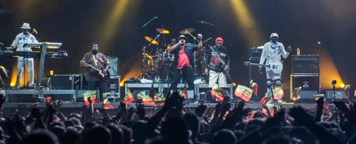 La scène principale du festival Reggae Sun Ska