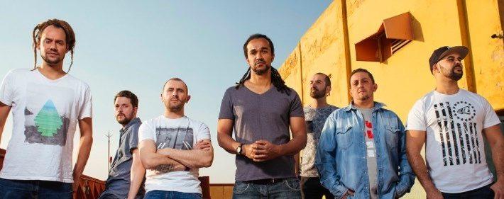 Les membres du groupe de reggae français Dub Incorporation