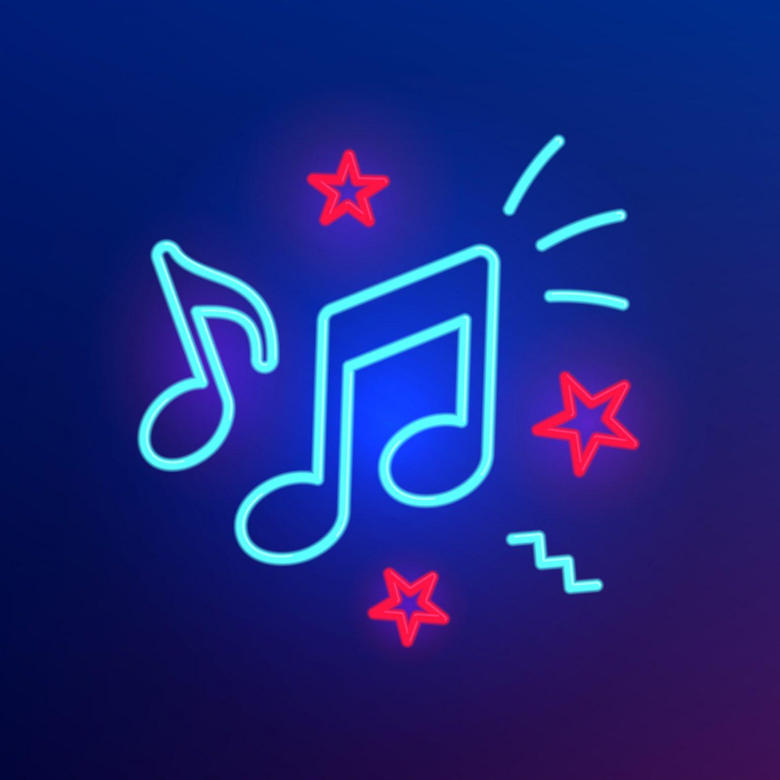 Des notes de musique qui font la fête