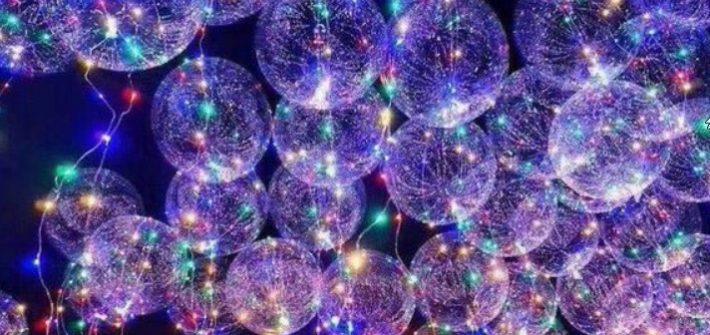 Ballons hélium led